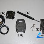Uniwersalny uchwyt rowerowy Garmin forerunner 310XT