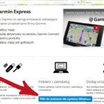 Aktualizacja nawigacji za pomocą programu Garmin Express