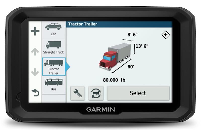nawigacja dla ciężarówki Garmin