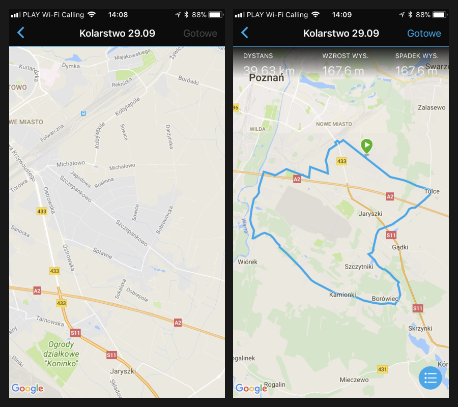 Kurs garmin Connect