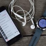 Sterowanie muzyką za pomocą zegarka Garmin