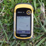 Pomiar pola za pomocą GPS Garmin eTrex 10