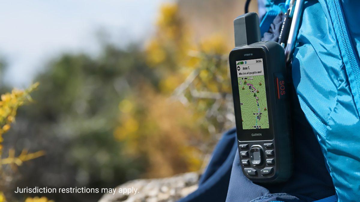 Przycisk SOS w GPSMap 66i