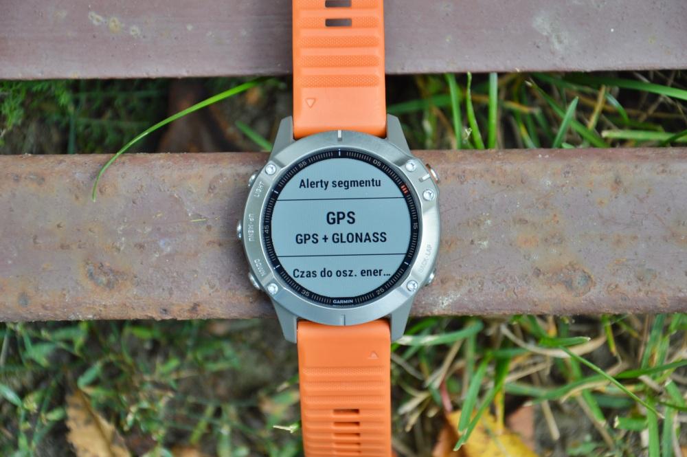 Garmin Fenix 6 ustawienia GPS