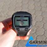 Edycja pól danych w zegarku Garmin Forerunner 910 XT