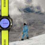 Tryb ski/snowboard w zegarkach Garmin