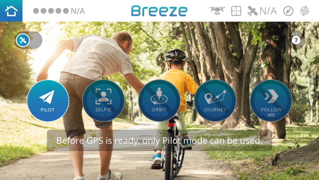 Aplikacja BreezeCam