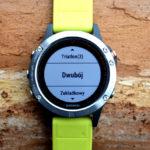 Duathlon z zegarkiem Garmin Fenix 5