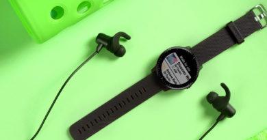 Spotify Garmin Vivoactive 3 Music