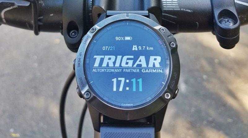 Nowy uchwyt rowerowy dla zegarków Garmin Fenix 6