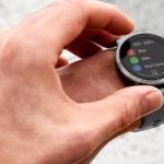 Ekran dotykowy w zegarkach sportowych Garmin