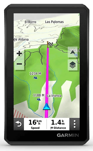 Mapy Topo Garmin Tread
