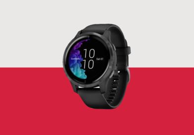 Język polski w zegarku Garmin Venu