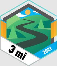 Odznaka Garmin 5 kilometrow