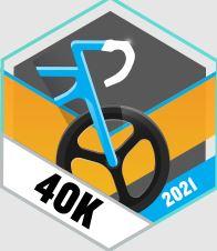 40k w weekend rowerem