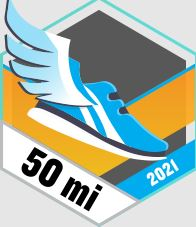 50 mil biegiem odznaka